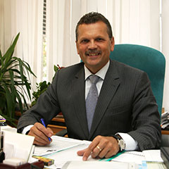 Игорь Ганчерёнок, проректор по учебной работе Академии управления при Президенте Республики Беларусь. Фото с сайта Академии.